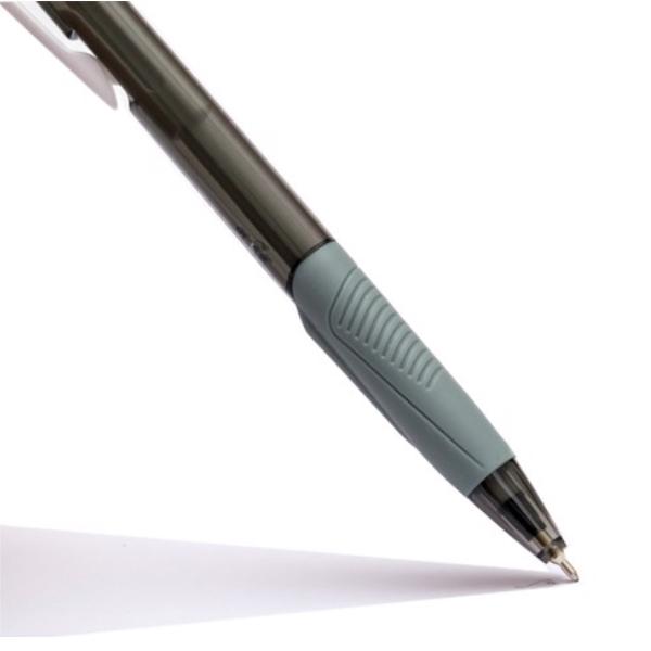Bút Bi Laris TL-095 - Mực Đen - Thân Đen