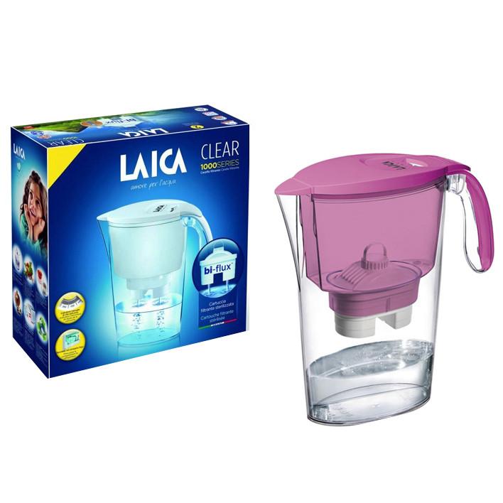 Combo Bình lọc nước LAICA J11A Tím và 02 Lõi lọc nước  (MADE IN ITALY)