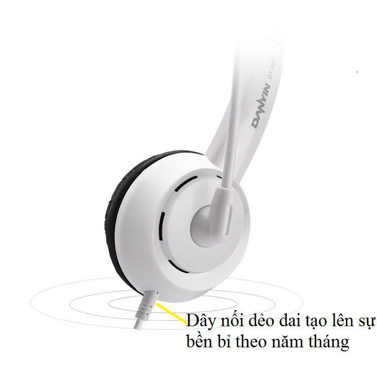 Tai Nghe Chụp Tai ️️ Tai Nghe Có Dây Cao Cấp - Tai Nghe Có Mic DT326 Bắt Giọng Cực Chuẩn