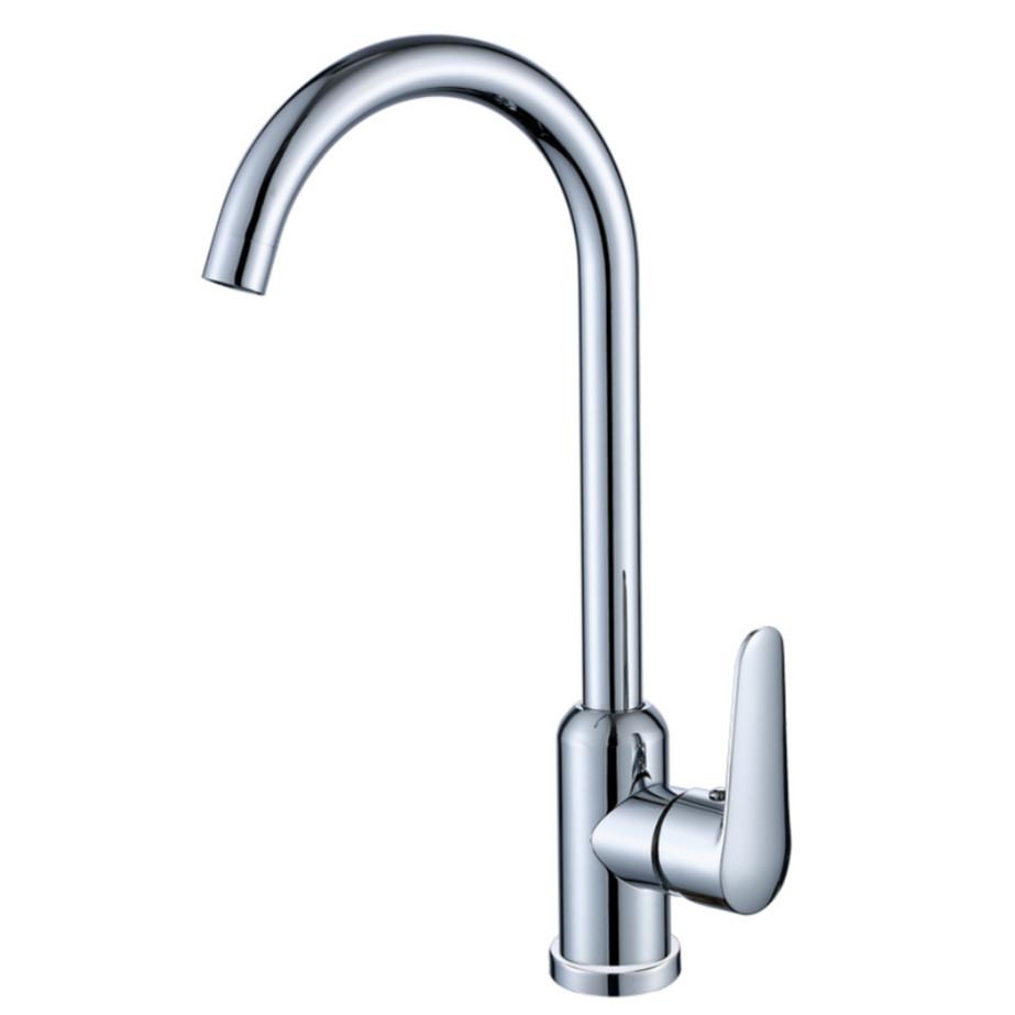 Vòi bếp, vòi bồn rửa chén nóng lạnh - Hàng cao cấp ITALIA SUS304 M2 (sáng bóng đẹp) + 2 dây cấp - HVMMA