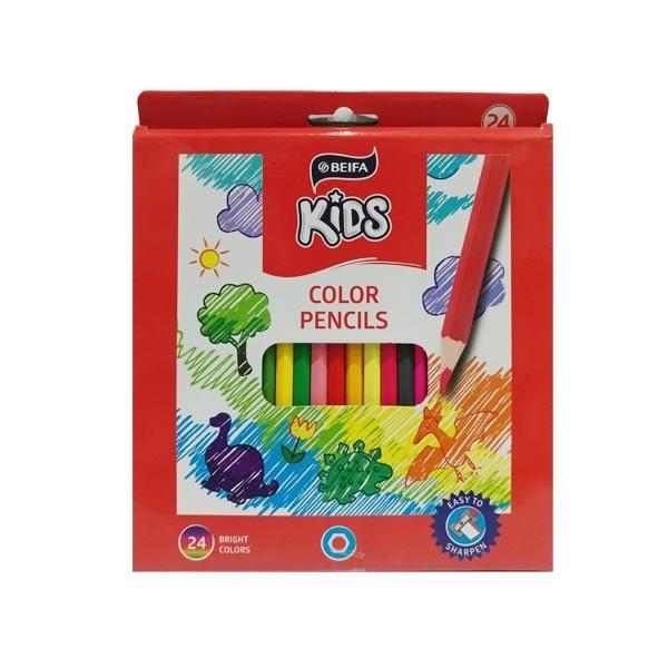 Chì Màu BEIFA BRMV00004-Kids (24 Màu)