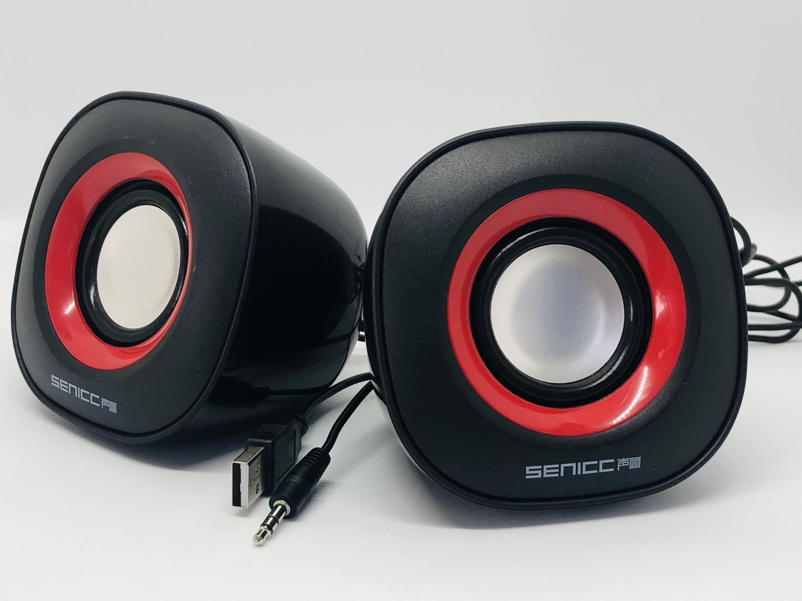 Loa máy tính 2.0 Senicc SN-458- Hàng chính hãng