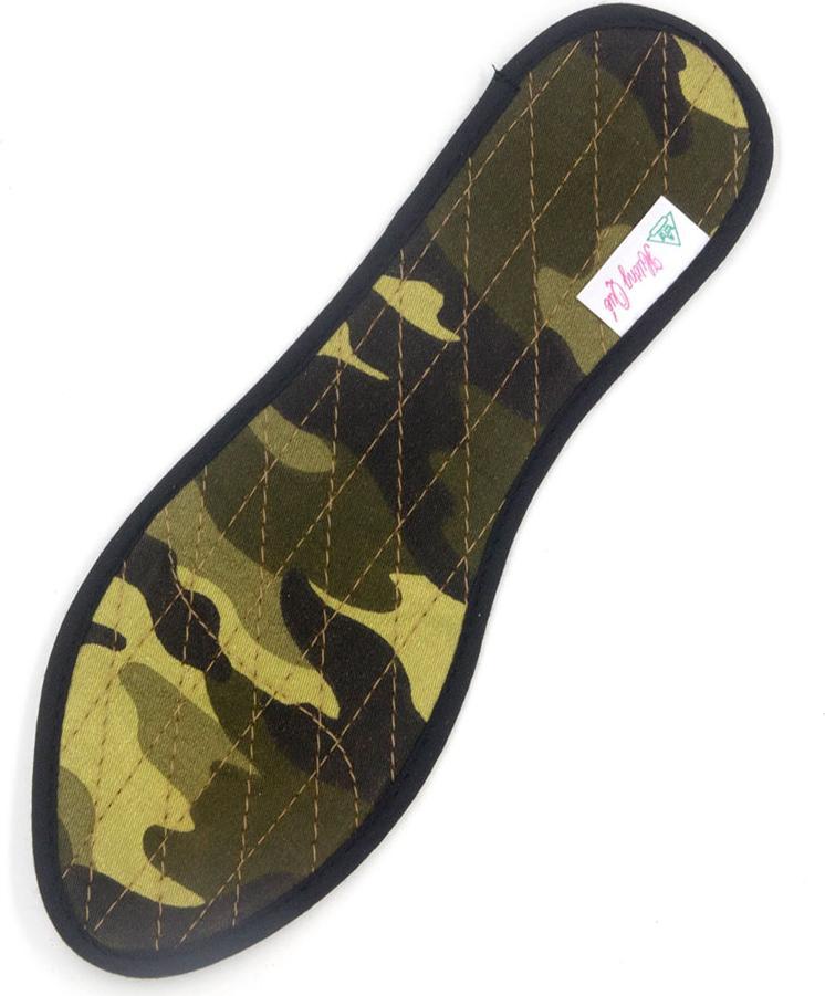 Lót giày quế vải lính cao cấp khử mùi hôi chân, giúp êm chân, ấm chân. Điều hòa huyệt đạo trong lòng bàn chân.