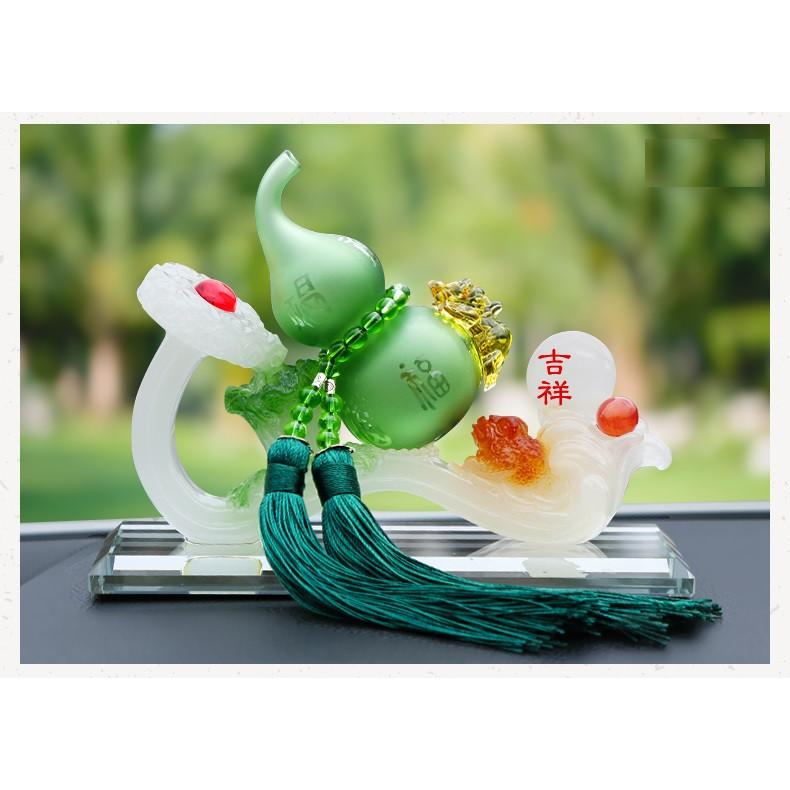 Nước hoa Hồ Lô pha lê phong thủy trang trí ô tô, phòng khách
