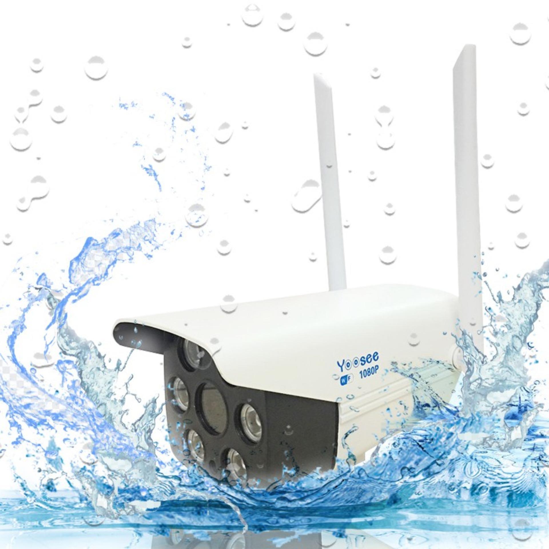 Camera Yoosee Ngoài Trời 2 Râu Yoosee GW-216S Full HD 1080P -Có Box Đựng Nguồn Chống Nước - Hàng Nhập Khẩu
