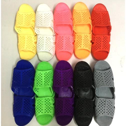 Dép tổ ong nam nữ nhiều màu đi trong nhà, đi mưa (9 màu) IDEP - DL015