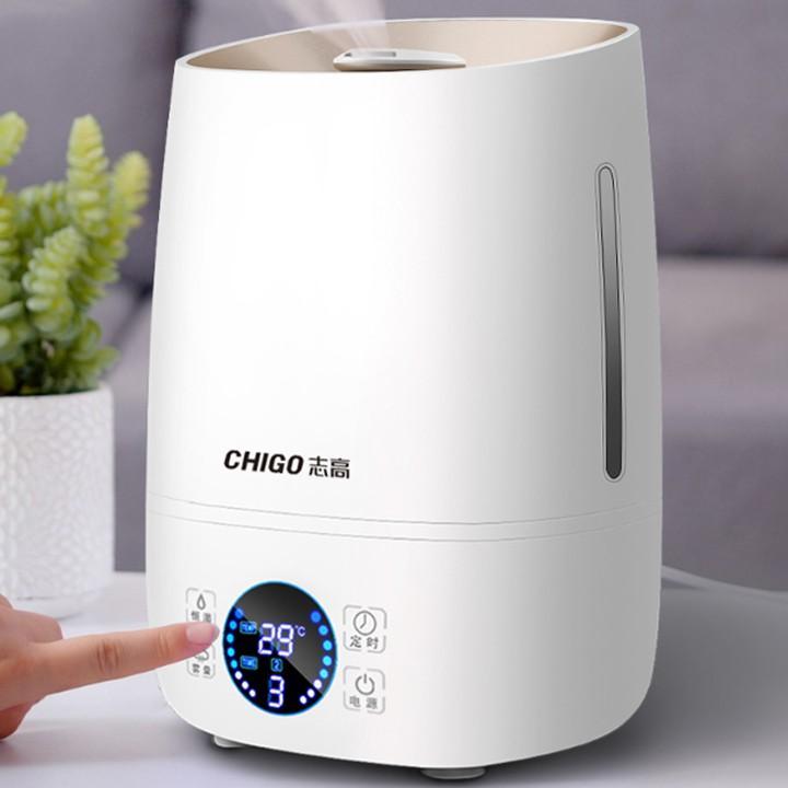 Máy phun sương tạo độ ẩm, máy khuếch tán tính dầu khử mùi không khí có chức năng hẹn giờ