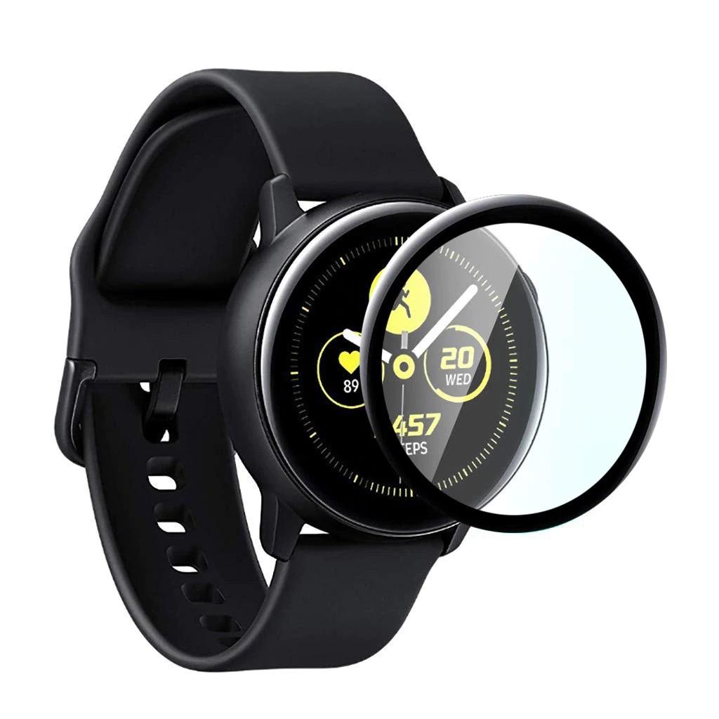 Miếng dán PPF 3D full màn hình cho Samsung Galaxy Watch Active 2 - Combo 3 miếng - Hàng nhập khẩu