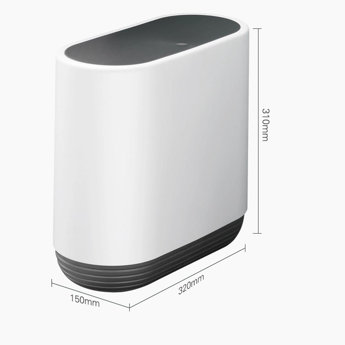 Thùng rác nhấn nắp đa năng HT SYS - COCO - E1906