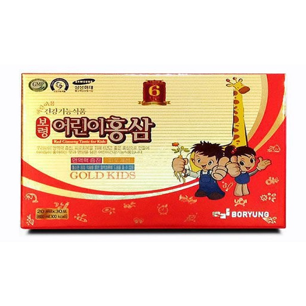 Nước hồng sâm trẻ em Kanghwa 30 gói Kid's Red Ginseng