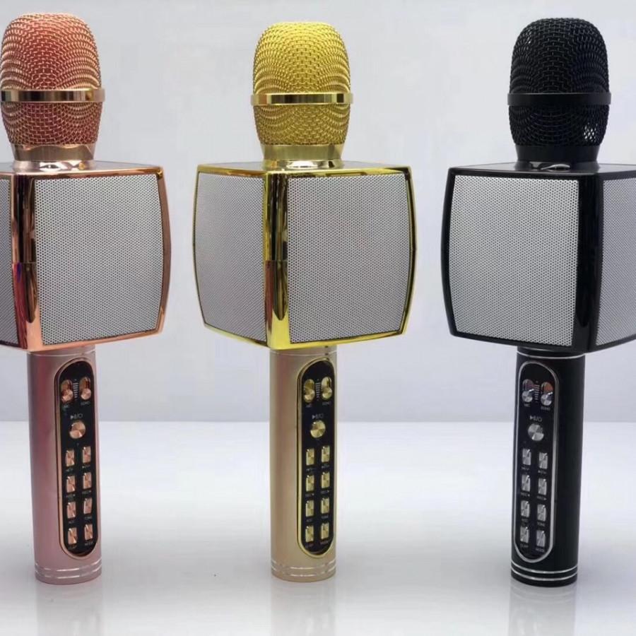 Mic hát Karaoke kèm loa SD-91 (Giao màu ngẫu nhiên)