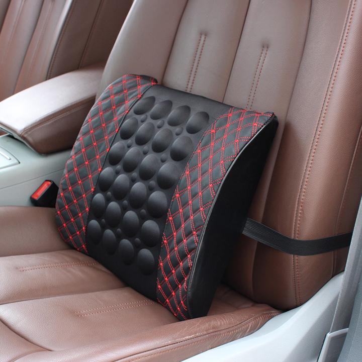 Gối tưa lưng có massage cho xe ô tô, xe hơi
