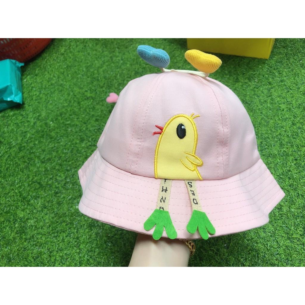 (240) Mũ vành tròn hình chim nhỏ cho bé trai/gái siêu dễ thương có quai chắc chắn