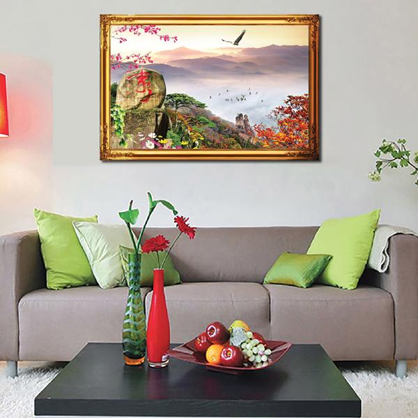Tranh Phong Thủy  Q12K-ZTH(499)
