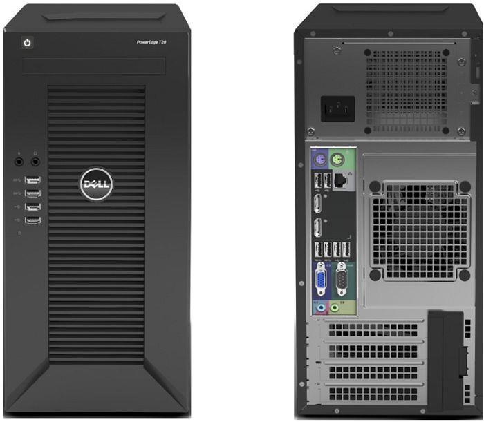 Máy tính chủ hiệu Dell PE T30 - Xeon 1225v5 - Memory 8Gb - HDD 1TB - Hàng chính hãng