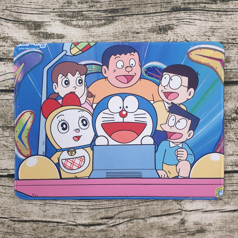 Lót chuột Doraemon Cỗ Máy Thời Gian 32x24cm dày 4mm siêu kute 2022