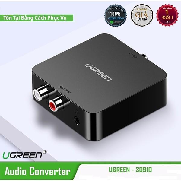 Bộ chuyển đổi quang optical, Coaxial to RCA chính hãng Ugreen 30523