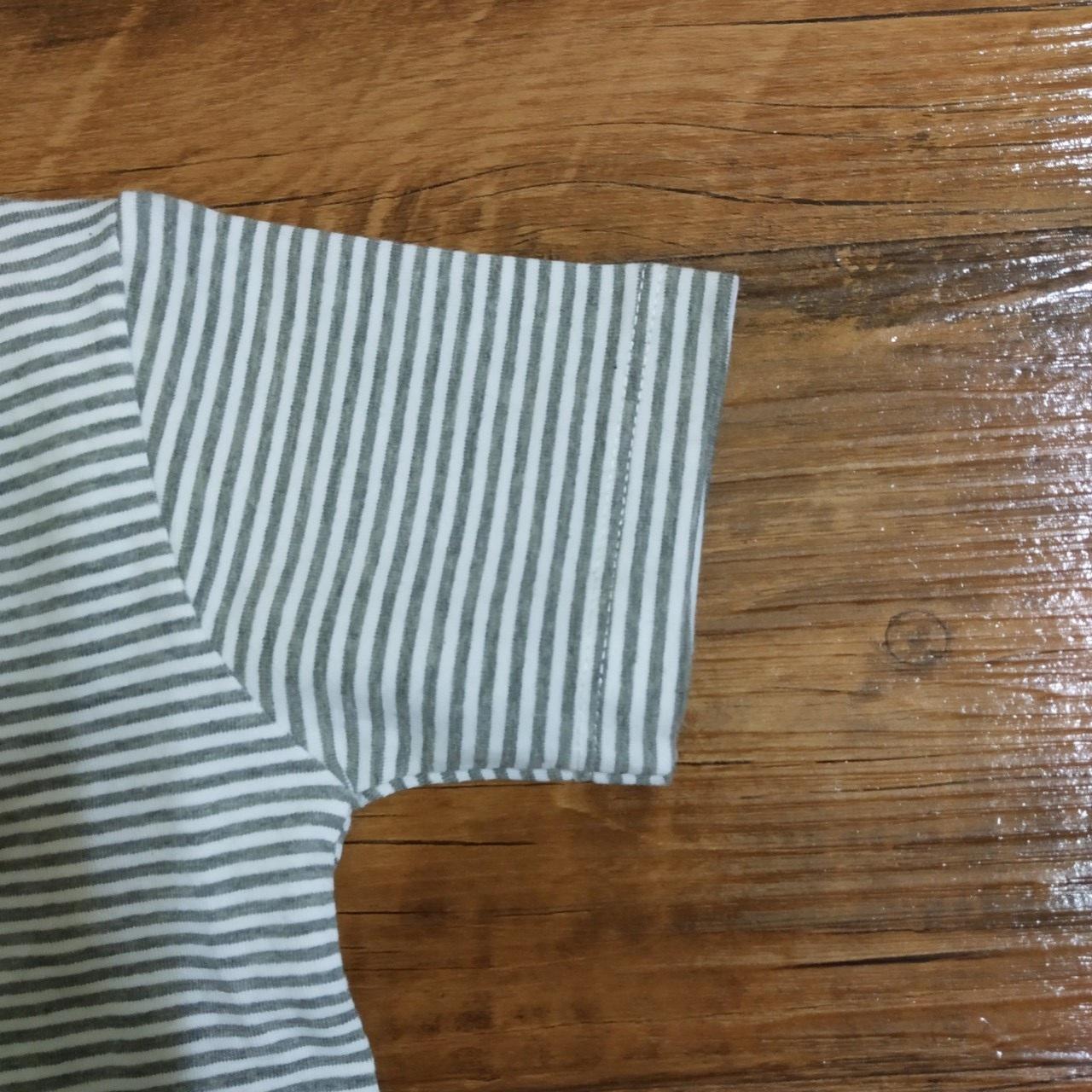 Đồ bộ bé gái lửng hình công chúa chất liệu thun cotton 4 chiều, mềm, mịn