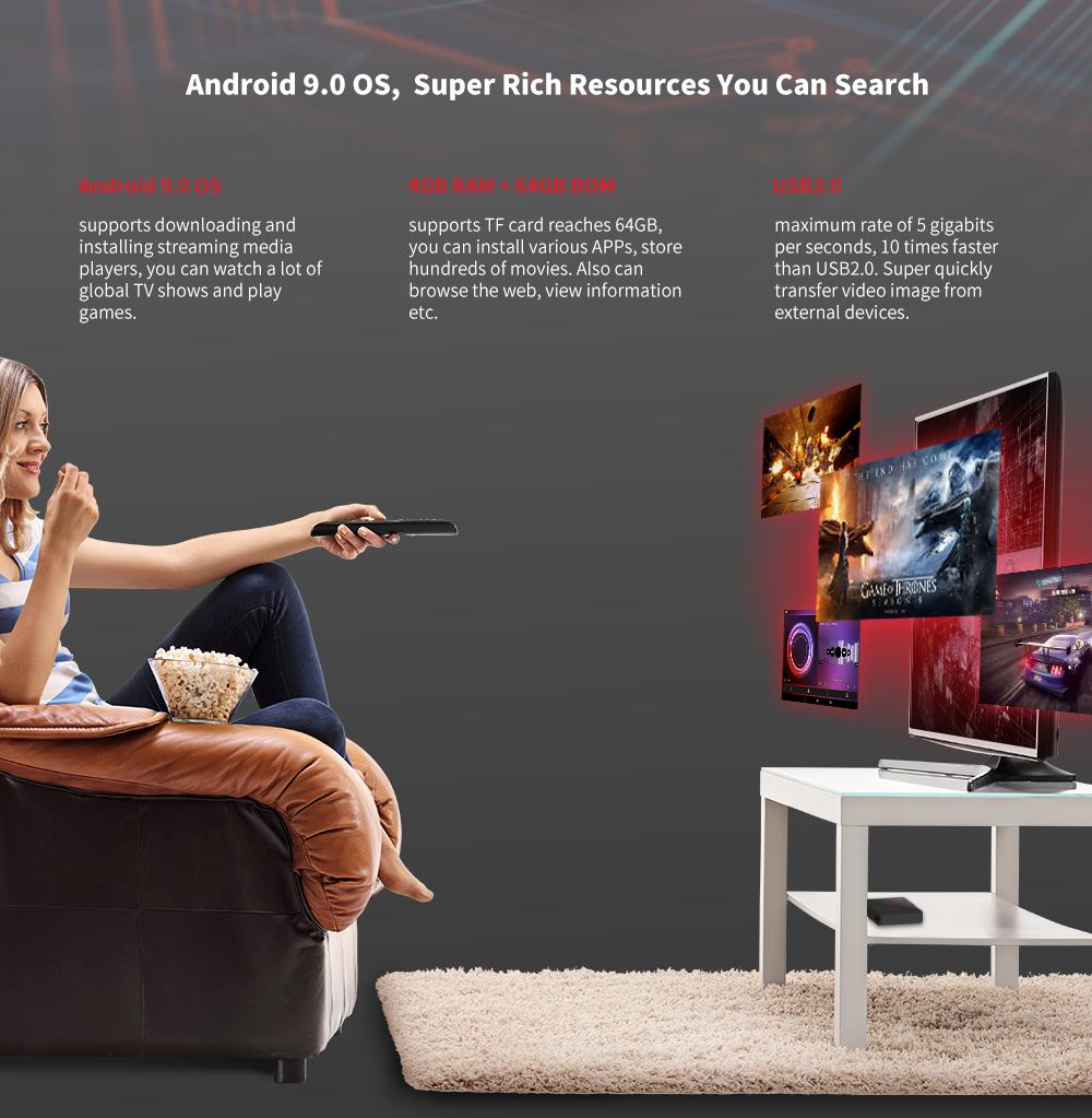 Android TV Box Magicsee N5 Nova có bluetooth cài sẵn bộ ứng dụng giải trí miễn phí vĩnh viễn - Hàng Chính Hãng