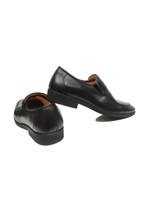 Giày Tây Nam Trung Niên Thần Thánh Đen Da Bò Mềm
