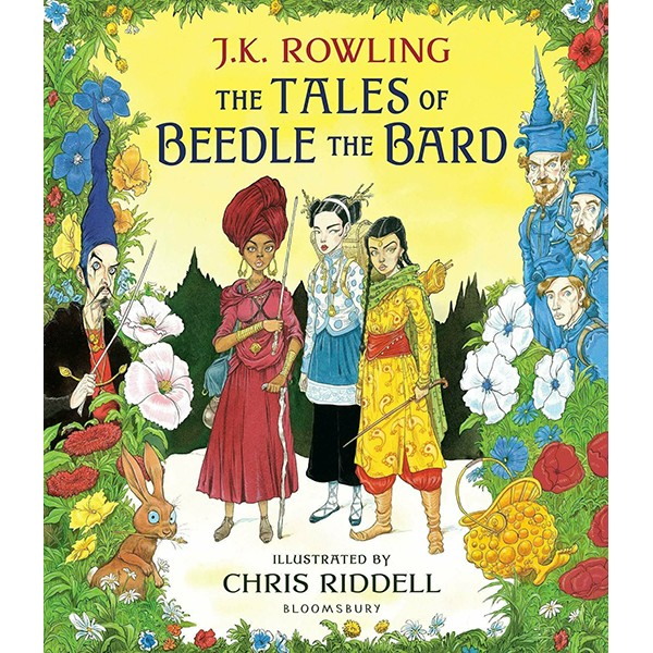 The Tales of Beedle the Bard (Hardback) - Illustrated Edition