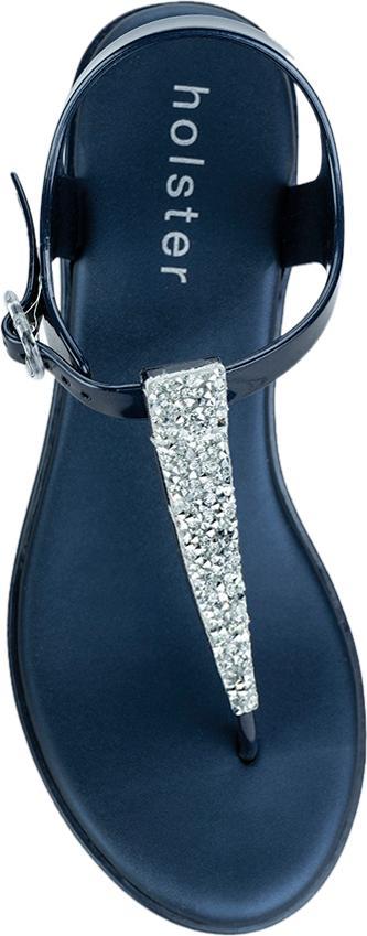 Giày Xăng Đan Nữ Holster Essential Wedge - Midnight Blue