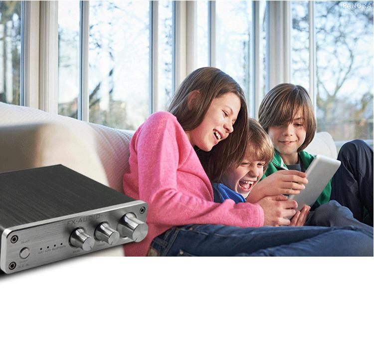 Bộ Khuếch Đại Âm Thanh Kỹ Thuật Số Fx-Audio Xl-2.1Bl 2.1 Kênh Bluetooth 4.0