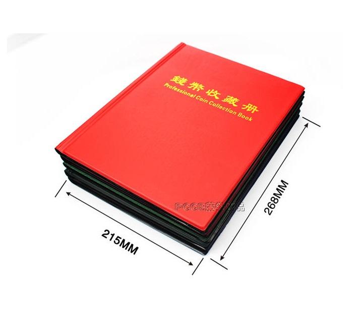 Album Đựng Tiền Xu 310 Ngăn PASA - đựng được Xu Lớn và Xu Nhỏ [màu ngẫu nhiên]