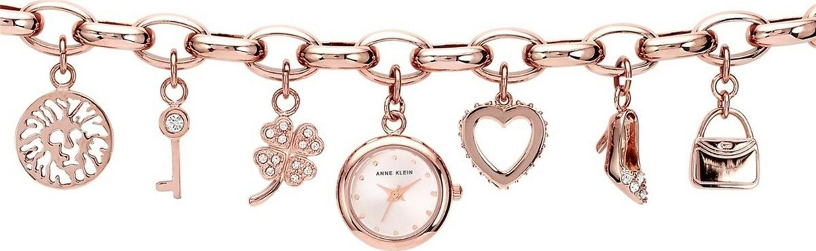 Đồng hồ thời trang dạng lắc ANNE KLEIN 10/7604CHRG