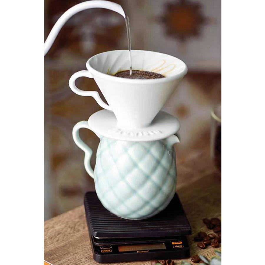 Phễu lọc Cafe bằng sứ cao cấp Brewista Artisan Tornado Porcelain for 1~ 2 cups
