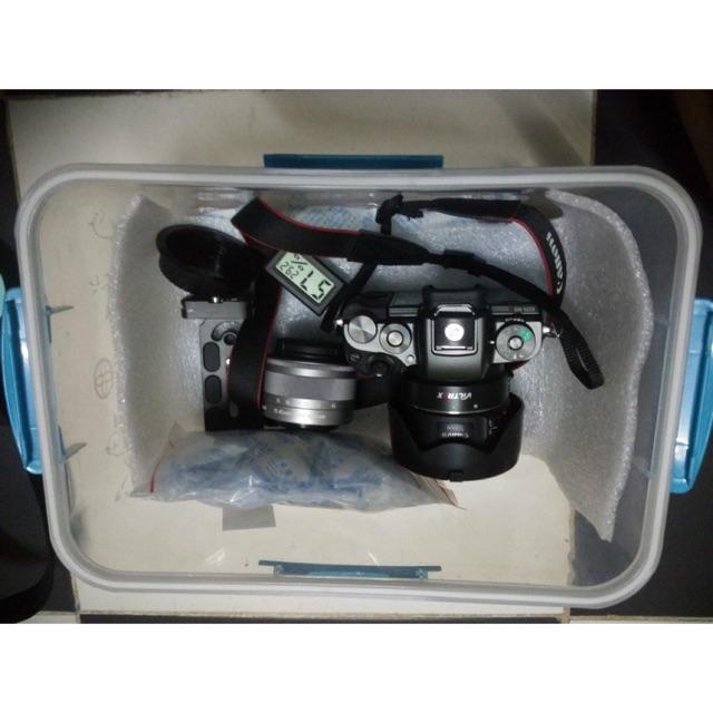 Combo hộp chống ẩm dành cho máy ảnh chống nấm mốc