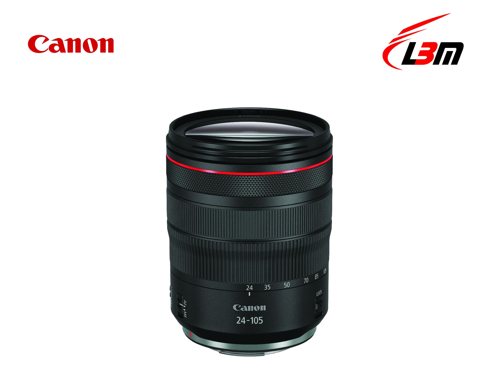 Ống kính Canon RF24-105mm f/4L IS USM - Hàng Chính Hãng