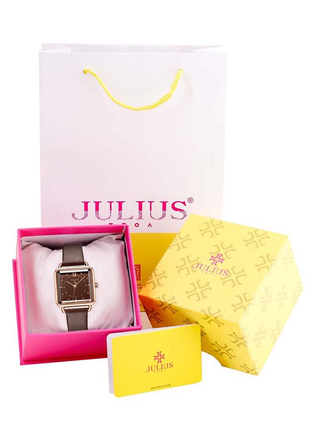 Đồng Hồ Nữ Dây Da Julius JA-1123E