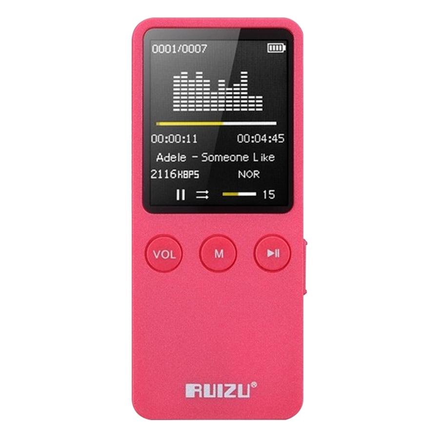 Máy Nghe Nhạc Loa Ngoài Ruizu X08 (8GB) - Hàng Chính Hãng - 3716752614330,62_2012865,648000,tiki.vn,May-Nghe-Nhac-Loa-Ngoai-Ruizu-X08-8GB-Hang-Chinh-Hang-62_2012865,Máy Nghe Nhạc Loa Ngoài Ruizu X08 (8GB) - Hàng Chính Hãng