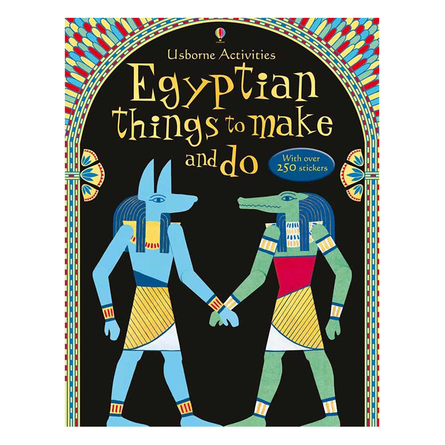Usborne Egyptian things to make and do