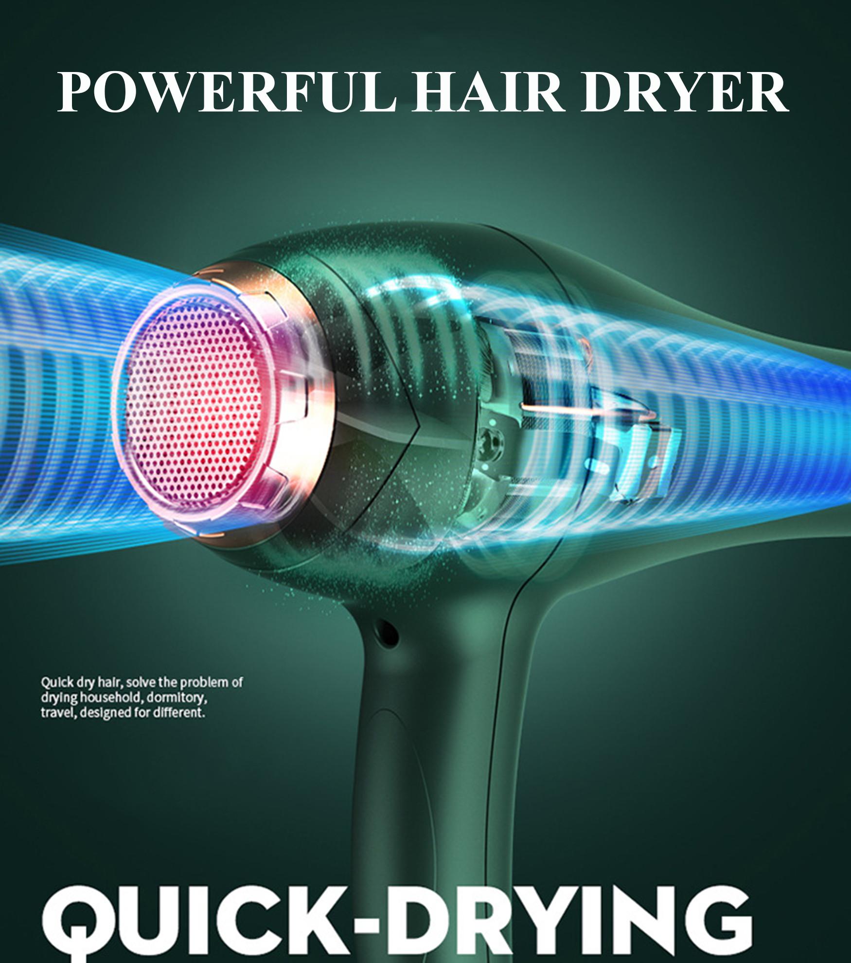 Máy Sấy Tóc Cao Cấp Công Suất Lớn 2200W Chuyên Dụng Cho Hair Salon - Máy Sấy Tóc Bổ Sung Ion Dưỡng Ẩm, Làm Mềm Mượt Tóc - Máy Sấy Tóc Cao Cấp Động Cơ Êm Ái, Ổn Định – Chính Hãng VinBuy