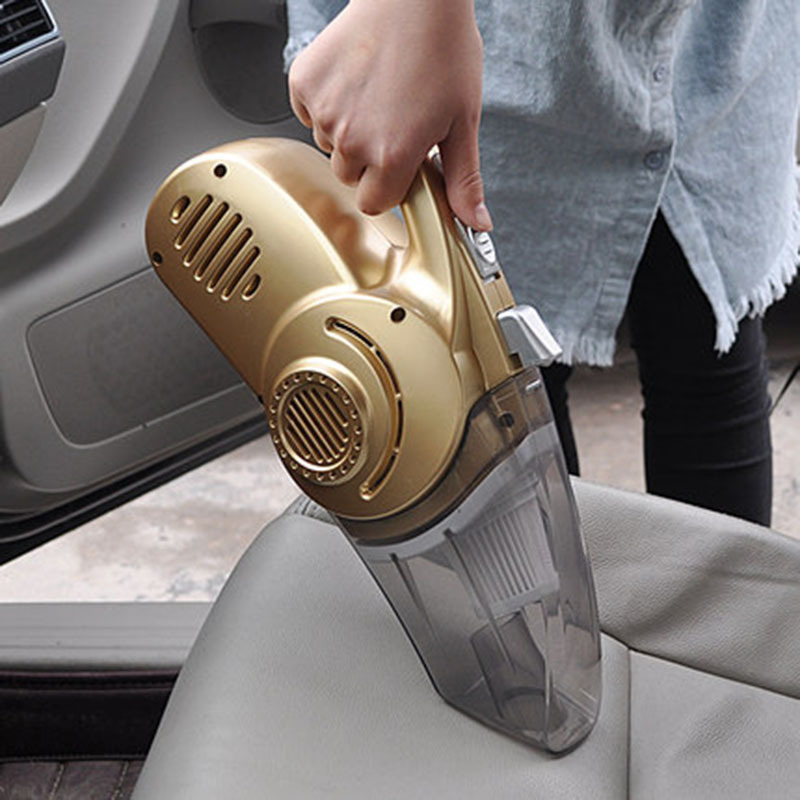 Máy hút bụi kiêm bơm xe đo áp suất lốp cho xe hơi 4 in 1 Vacuum Cleaner