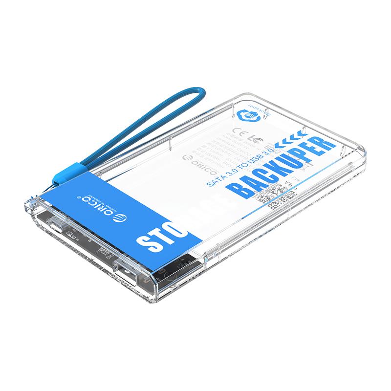 """Hộp Ổ Cứng Orico BA2110-CR  Backuper 2.5"""" SSD/HDD SATA 3 USB 3.0 - Hàng Chính Hãng"""