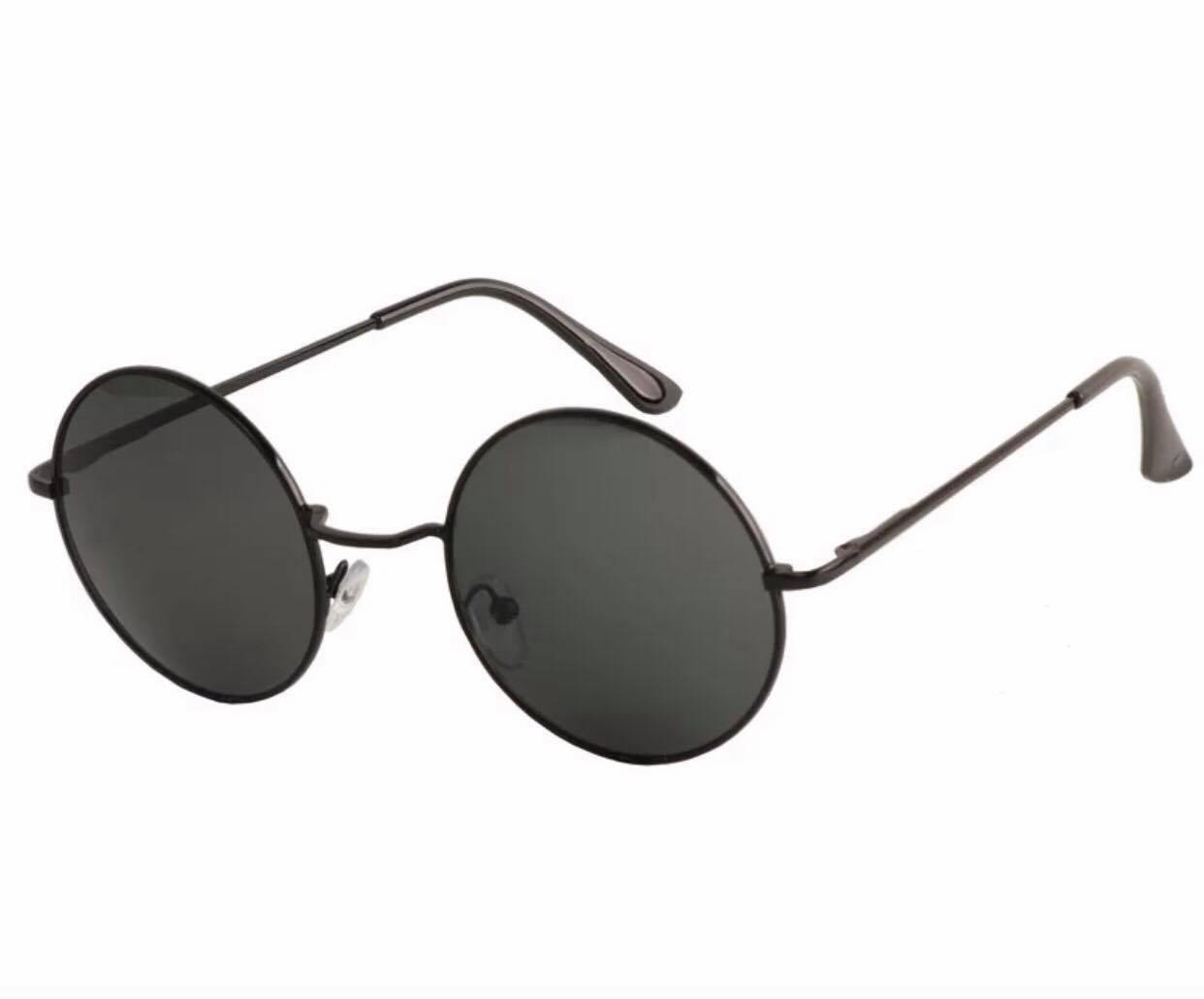 Kính Xinh, Kính râm/Kính mát Mắt tròn mini Tròng thủy tinh chống nắng UV400 + tặng tuavit Kính Xinh mini