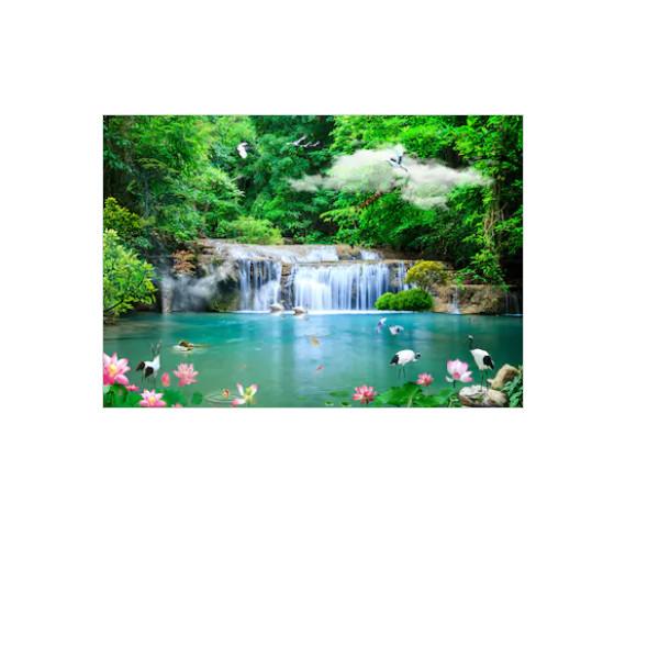 Tranh dán tường cửa sổ 3D   Tranh trang trí 3D   Tranh phong cảnh đẹp   T3DMN 261