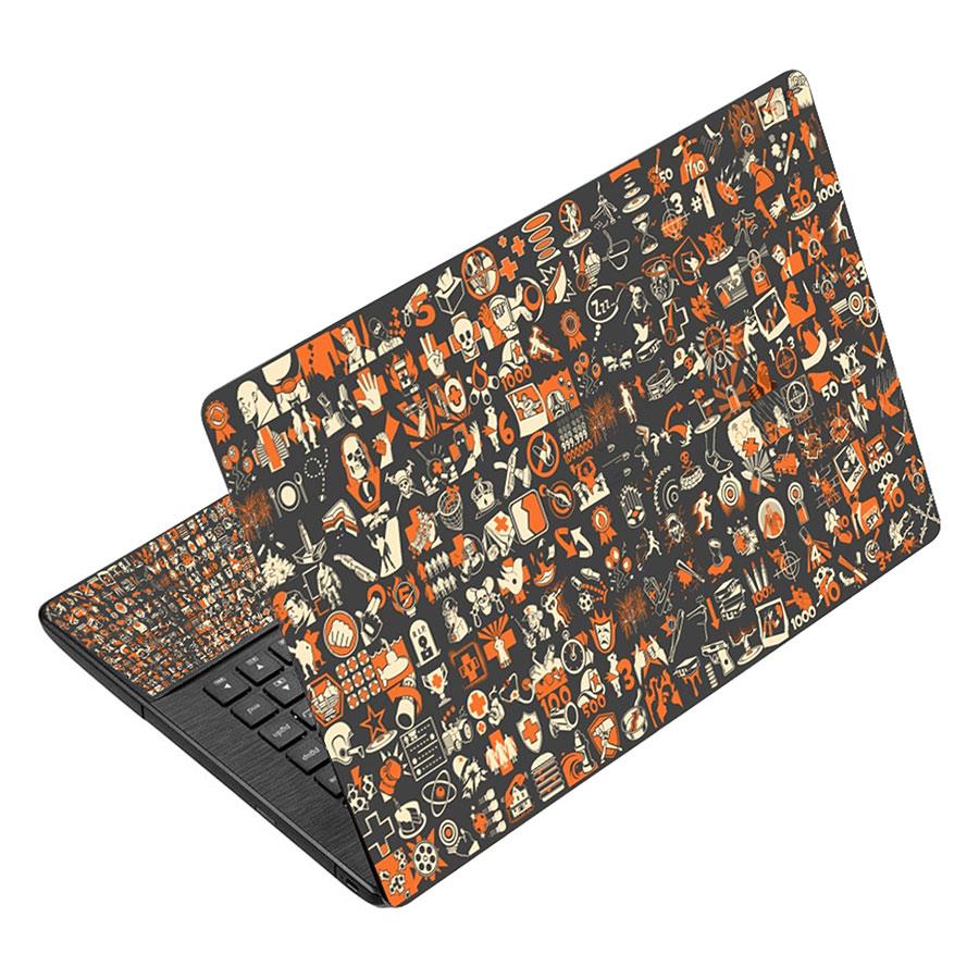 Miếng Dán Decal Dành Cho Laptop - Hoa Văn LTHV-228