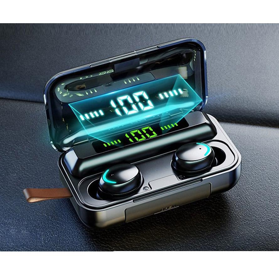 Tai nghe bluetooth siêu nhẹ, âm thanh HI-FI cao cấp kiêm pin sạc dự phòng và giá đỡ điện thoại - Hàng chính hãng