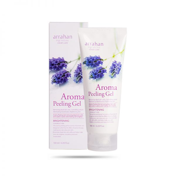 Kem Tẩy Tế Bào Chết Và Dưỡng Ẩm Da Arrahan Pure Natural Clean Care Aroma Peeling Gel 180ml