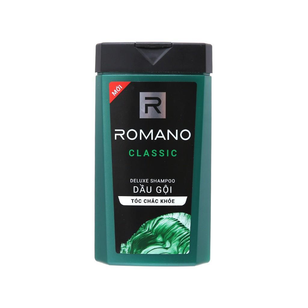 Tắm gội Romano Classic 2 trong 1 chai 900gr Tặng kèm dầu gội Classic 180g