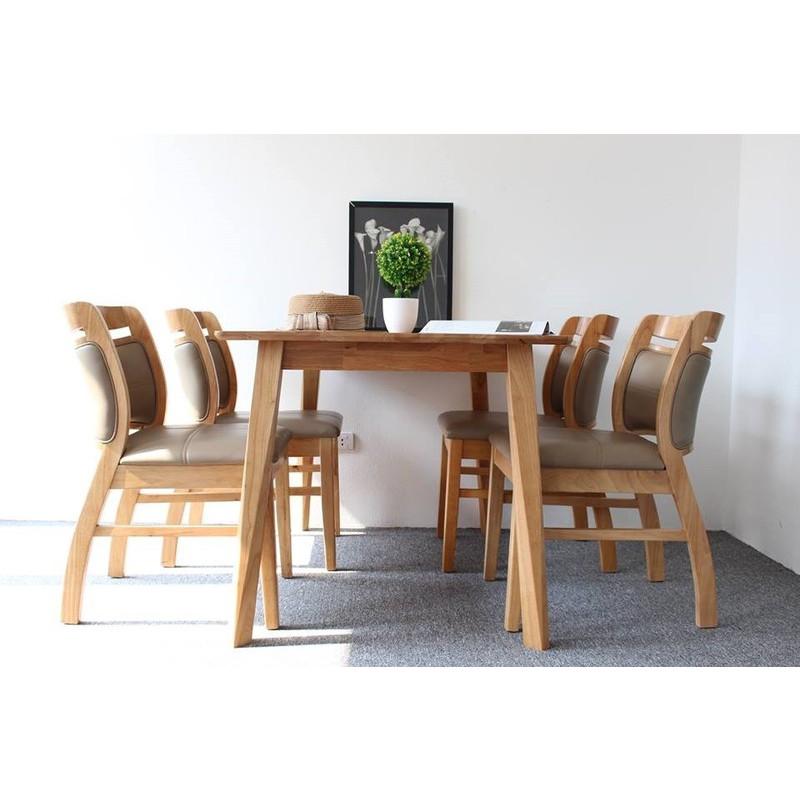 Bộ bàn ghế ăn cao cấp BA04