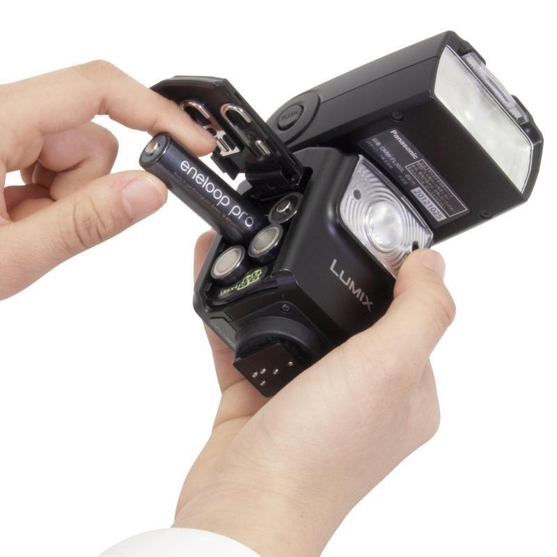 Pin sạc Panasonic Eneloop AA 2550mah BK-3HCCE4BT3 (Vỉ 4 viên) (Đen)