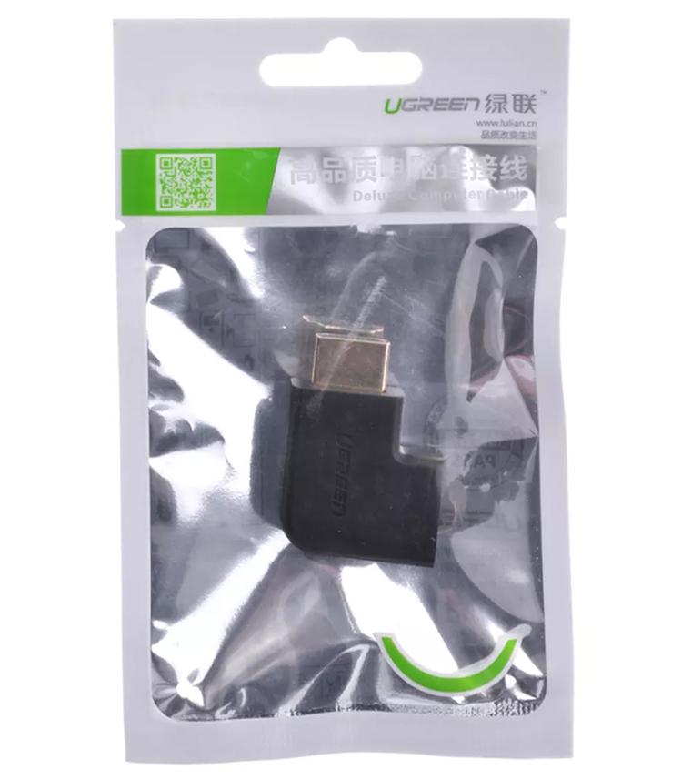 Đầu Nối HDMI Chữ L Ugreen Bên Trái 20111 - Hàng Chính Hãng