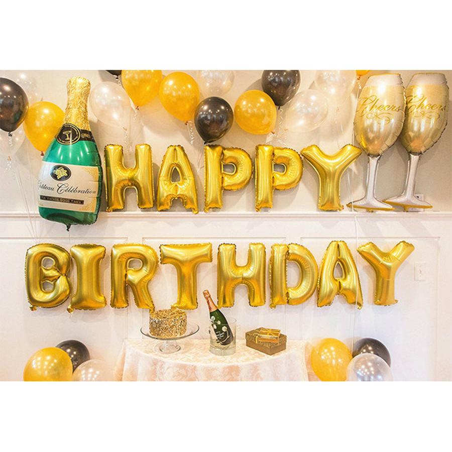Set bóng trang trí sinh nhật người  lớn 01