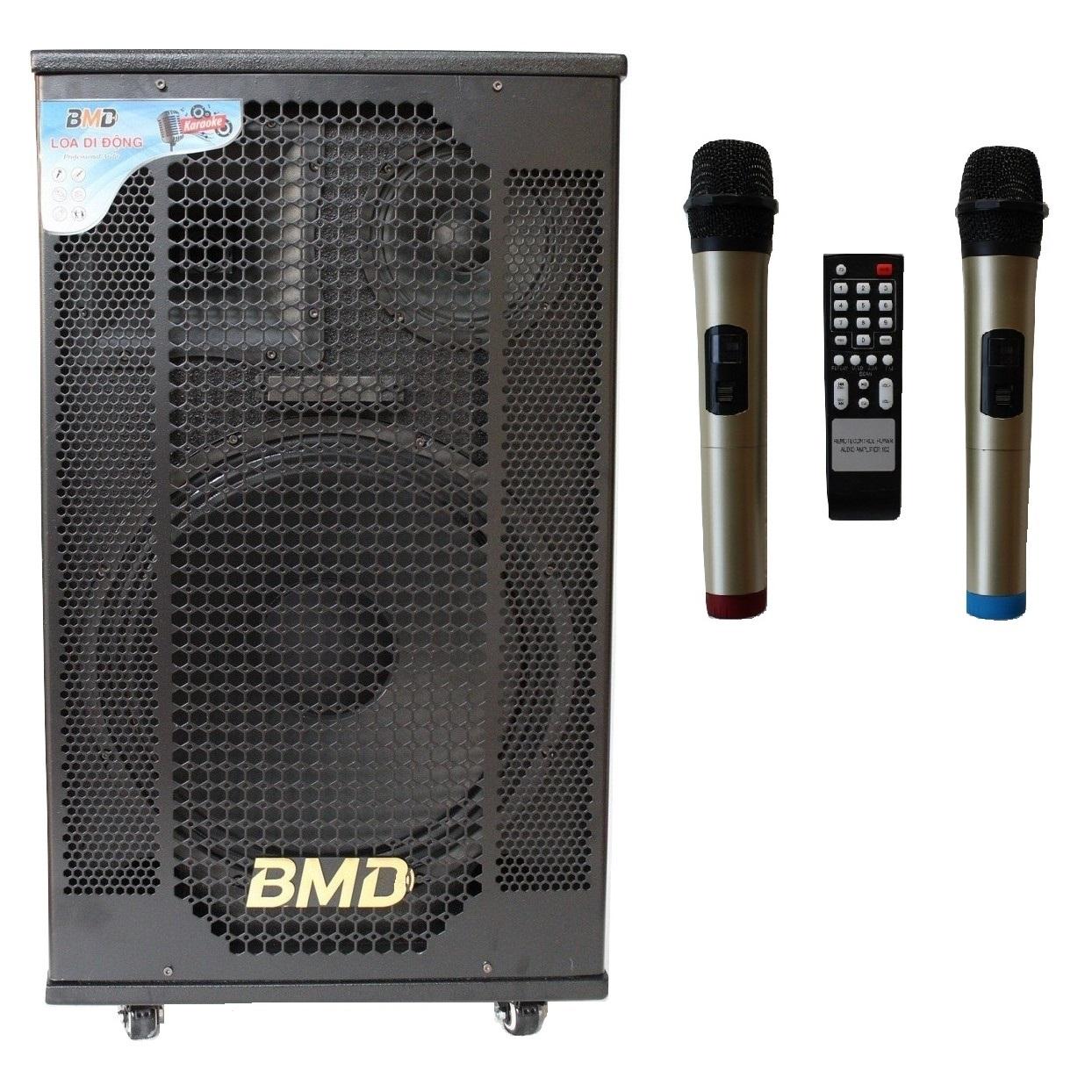 Loa Kéo Di Động Karaoke Bass 40 BMD LK-40B60 (800W) 4 Tấc - Màu Ngẫu Nhiên - Chính Hãng