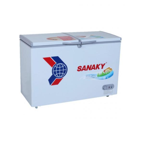 Tủ Đông Dàn Đồng Sanaky VH-4099W1 ( 2 Chế Độ Đông, Mát) (400L) - Hàng Chính Hãng